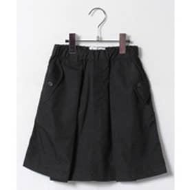 nunu タックスカート(S〜XL)(ブラック)【返品不可商品】