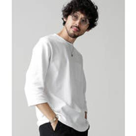nano・universe 7/S BIG Tシャツ(ホワイト)