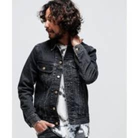 nano・universe Lee/別注101 Denim Jacket(ブラック)【返品不可商品】
