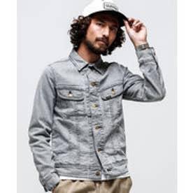 nano・universe 別注101 Denim Jacket(グレー)【返品不可商品】