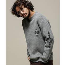 nano・universe 【至極の逸品】PENDLETON:別注Crew Neck Sweater(グレー)