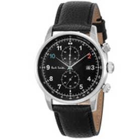 PAUL SMITH Paul Smith BLOCK CHRONO 腕時計 P10140 メンズ(ブラック×シルバー)【返品不可商品】