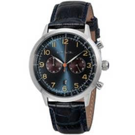 PAUL SMITH Paul Smith PRECISION CHRONO 腕時計 P10014 メンズ(ネイビー×シルバー)【返品不可商品】