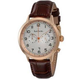 PAUL SMITH Paul Smith PRECISION CHRONO 腕時計 P10014 メンズ(シルバー×ゴールド)【返品不可商品】