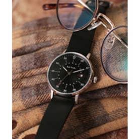 PAUL SMITH Paul Smith GAUGE 腕時計 P10076 メンズ(ブラック×シルバー)【返品不可商品】