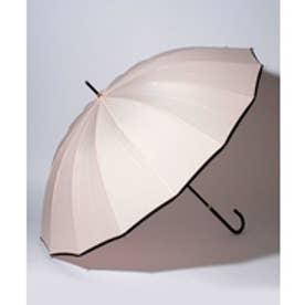 pinktrick BESUNNYビーサニー長傘【16本骨】パイピング(晴雨兼用UVカット耐風軽量撥水)(ピンク)【返品不可商品】