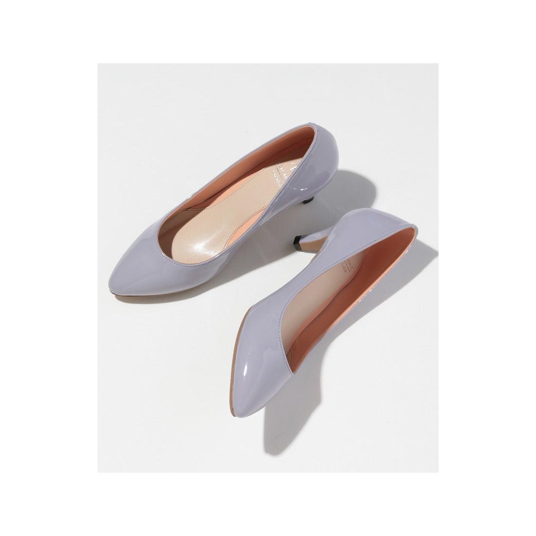 ロコンド 靴とファッションの通販サイトROPE PICNIC PASSAGE 【新色追加!】【WEB限定カラー】カラーコンビプレーンパンプス(ラベンダー(52))【返品不可商品】