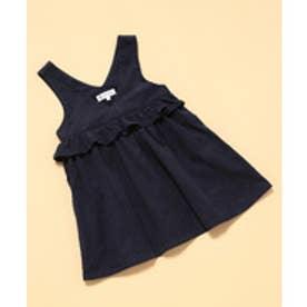 ROPE' PICNIC KIDS 【ROPE' PICNIC KIDS】コーデュロイジャンパースカート(ネイビー(40))