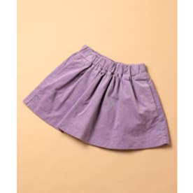 ROPE' PICNIC KIDS 【ROPE PICNIC KIDS】別珍カラースカート(ラベンダー系(53))