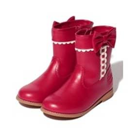 ShirleyTemple ショートブーツ(20~22cm)(赤)【返品不可商品】