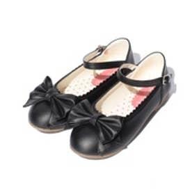 ShirleyTemple ワンストラップシューズ(22~24cm)(黒)【返品不可商品】