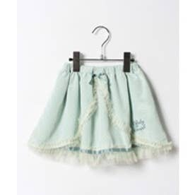 ShirleyTemple スカート(140cm)(サックス)【返品不可商品】