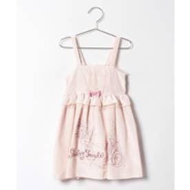 ShirleyTemple ジャンパースカート(110〜130cm)(ピンク)【返品不可商品】