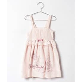 ShirleyTemple ジャンパースカート(140cm)(ピンク)【返品不可商品】