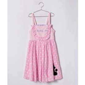ShirleyTemple ジャンパースカート(150〜160cm)(ピンク)【返品不可商品】
