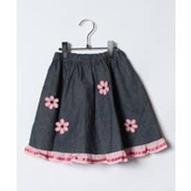 ShirleyTemple スカート(130cm)(紺)【返品不可商品】