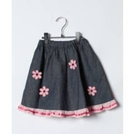 ShirleyTemple スカート(150〜160cm)(紺)【返品不可商品】