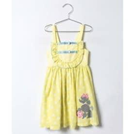 ShirleyTemple プードルジャンパースカート(100〜120cm)(キイロ)【返品不可商品】