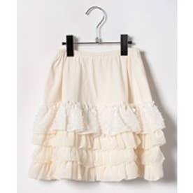 ShirleyTemple フリルスカート(140cm)(オフホワイト)【返品不可商品】