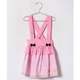 ShirleyTemple スカート(110~130cm)(ピンク)【返品不可商品】
