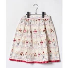 ShirleyTemple パフェptスカート(150~160cm)(オフホワイト)【返品不可商品】