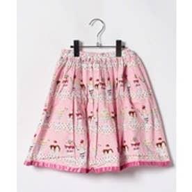 ShirleyTemple パフェptスカート(150~160cm)(ピンク)【返品不可商品】