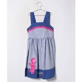 ShirleyTemple ジャンパースカート(150~160cm)(ブルー)【返品不可商品】