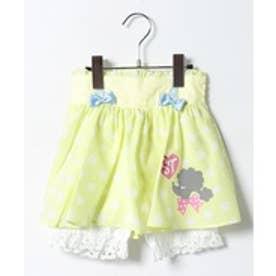 ShirleyTemple パンツ付きスカート(100〜130cm)(キイロ)【返品不可商品】