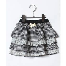 ShirleyTemple スカート(100〜130cm)(黒)【返品不可商品】