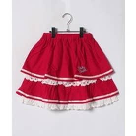 ShirleyTemple スカート(150~160cm)(赤)【返品不可商品】