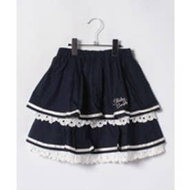 ShirleyTemple スカート(150~160cm)(紺)【返品不可商品】