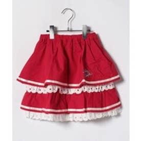 ShirleyTemple スカート(140cm)(赤)【返品不可商品】