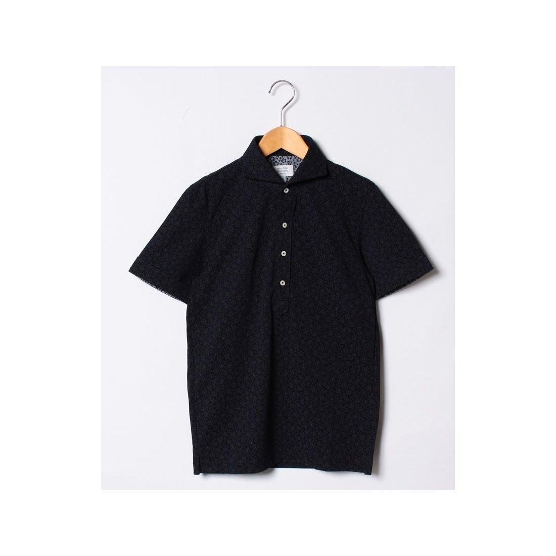 ロコンド 靴とファッションの通販サイトSSENTIAL GARMENT MEN'S BIGI カノコ素材ポロシャツ/フラワープリント 【JAPAN MADE】(ネイビー)【返品不可商品】