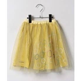 TINKERBELL 女チュールスカート(130~140cm)(マスタード)【返品不可商品】