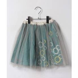 TINKERBELL 女チュールスカート(130~140cm)(エメラルド)【返品不可商品】