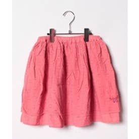 TINKERBELL 女カットボイルスカート(130~140cm)(サーモンピンク)【返品不可商品】