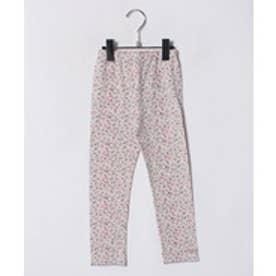 TINKERBELL 女 ベア天小花柄長パンツ(100〜120cm)(ピンク系)【返品不可商品】