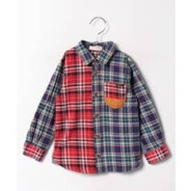 TINKERBELL 男児 チェックシャツ(130~140cm)(その他)【返品不可商品】