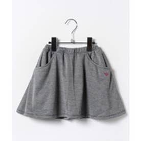 TINKERBELL 千鳥ニット インパン付キュロットスカート(90cm)(ブラック)【返品不可商品】