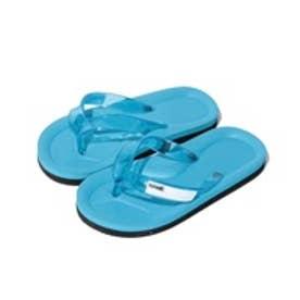 VacaSta Swimwear(Kids) 名前が書けるスクールサンダル(サックス)【返品不可商品】
