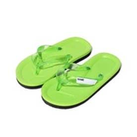 VacaSta Swimwear(Kids) 名前が書けるスクールサンダル(グリーン)【返品不可商品】