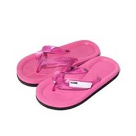 VacaSta Swimwear(Kids) 名前が書けるスクールサンダル(ピンク)【返品不可商品】