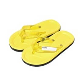 VacaSta Swimwear(Kids) 名前が書けるスクールサンダル(イエロー)【返品不可商品】