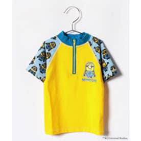 VacaSta Swimwear(Kids) 【セットアップ対応商品】MINION 男児長袖ラッシュガード(イエロー)【返品不可商品】