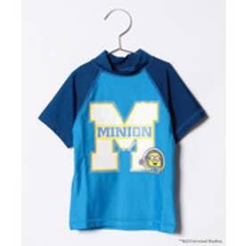 VacaSta Swimwear(Kids) MINION 男児半袖ラッシュガード(ブルー)【返品不可商品】