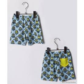 VacaSta Swimwear(Kids) 【セットアップ対応商品】MINION セミロング丈海パン(サックス)【返品不可商品】