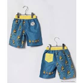 VacaSta Swimwear(Kids) MINION セミロング丈サーフパンツ(ブルー)【返品不可商品】