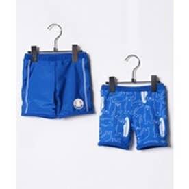 VacaSta Swimwear(Kids) California Shore セミロング丈海パン(リバーシブル)(ブルー)【返品不可商品】