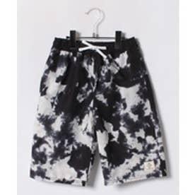VacaSta Swimwear(Kids) California Shore セミロング丈サーフパンツ(ブラック)【返品不可商品】