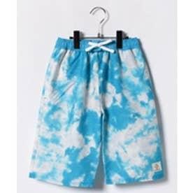 VacaSta Swimwear(Kids) California Shore セミロング丈サーフパンツ(ターコイズ)【返品不可商品】